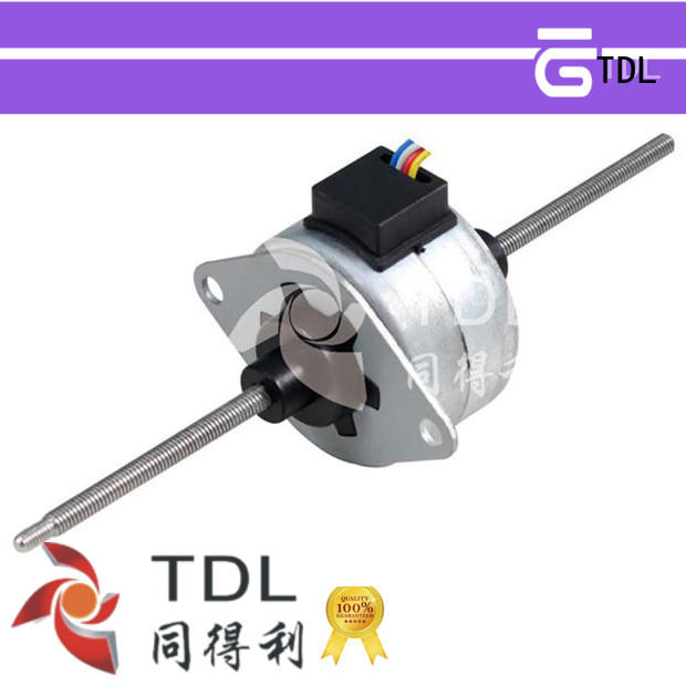 TDL high quality linear dc motor for financial equipment