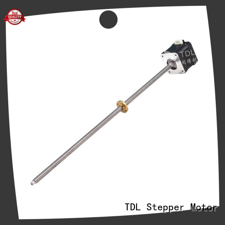 TDL durable stepper motor linear motion directly sale for three dimensional printer